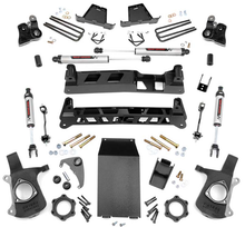 "1999-2006 Chevy & GMC 1500 4wd 6"" NTD Lift Kit W/ V2 Shocks - Rough Country 27270"