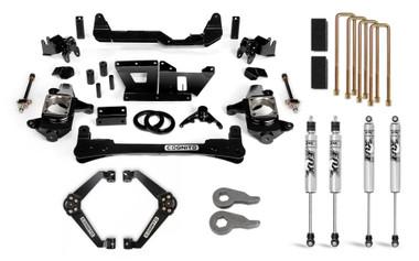 "2001-2010 Chevy & GMC 2500 2wd/4wd 6"" Standard Lift Kit W/ FOX Shocks - Cognito 110-P0970"