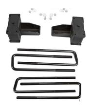 """2020-2022 Chevy & GMC 2500HD 4.5"""" Fabricated Lift Blocks & U-Bolts"""
