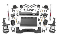 """2021 Ford F-150 4wd 6"""" Lift Kit W/ Rear N3 Shocks - Rough Country 58730"""