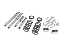 "1982-1993 GMC Sonoma Standard Cab 2WD 3/3"" Lowering Kit w/ Street Performance Shocks - Belltech 630SP"