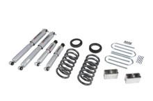 """1995-1997 Chevy Blazer (4 Cyl) 2WD 3/3"""" Lowering Kit w/ Street Performance Shocks - Belltech 630SP"""