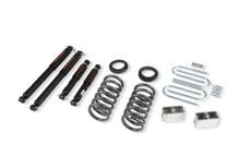 "1999-2004 Chevy S10 3/3"" 2wd Lowering Kit w/ Nitro Drop 2 Shocks - Belltech 630ND"