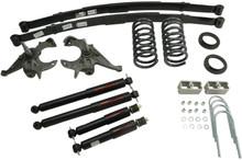"1994-2004 Chevy S10 4/5"" 2wd Lowering Kit w/ Nitro Drop 2 Shocks - Belltech 616ND"