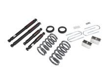 "1994-2004 Chevy S10 2/3"" (6 Cyl) Lowering Kit w/ Nitro Drop 2 Shocks - Belltech 650ND"