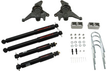 "1998-2004 Chevy Blazer 2wd 2/2"" Lowering Kit w/ Nitro Drop 2 Shocks - Belltech 624ND"