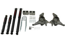 "1998-2004 Chevy Blazer 2wd 2/3"" Lowering Kit w/ Nitro Drop 2 Shocks - Belltech 625ND"