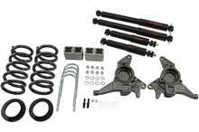 "1998-2004 GMC Jimmy 2wd 4/3"" Lowering Kit w/ Nitro Drop 2 Shocks - Belltech 626ND"