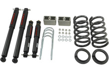 "1998-2004 Chevy Blazer 2wd 2/3"" Lowering Kit w/ Nitro Drop 2 Shocks - Belltech 627ND"