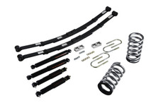 "1995-1997 GMC Jimmy 2wd (6 Cyl) 2/4"" Lowering Kit w/ Nitro Drop 2 Shocks - Belltech 573ND"