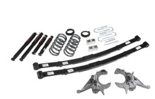 "1995-1997 GMC Jimmy 2wd (6 Cyl) 4/5"" Lowering Kit w/ Nitro Drop 2 Shocks - Belltech 633ND"
