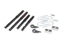 "1982-2004 Chevy S10 Pickup 4wd 1/2"" Lowering Kit w/ Nitro Drop 2 Shocks - Belltech 635ND"
