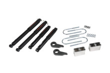 "1982-2004 Chevy Blazer 4wd 3/3"" Lowering Kit w/ Nitro Drop 2 Shocks - Belltech 636ND"