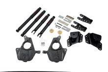 "2005-2006 GMC Sierra 1500 2WD (Std Cab) 2/4"" Lowering Kit w/ Nitro Drop 2 Shocks - Belltech 655ND"