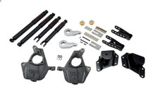 "2005-2006 GMC Sierra 1500 2WD (Std Cab) 3/4"" Lowering Kit w/ Nitro Drop 2 Shocks - Belltech 656ND"