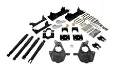 "2005-2006 GMC Sierra 1500 4WD (Ext Cab) 4/6"" Lowering Kit w/ Nitro Drop 2 Shocks - Belltech 662ND"