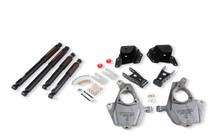 "2001-2006 GMC Sierra 1500 2WD (Std Cab) 2/3"" Lowering Kit w/ Nitro Drop 2 Shocks - Belltech 653ND"