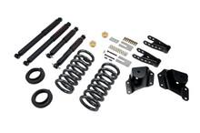 "2001-2006 Chevy Silverado 1500 2WD (Std Cab) 2/4"" Lowering Kit w/ Nitro Drop 2 Shocks - Belltech 664ND"