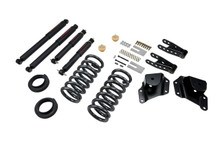 "2001-2006 GMC Sierra 1500 2WD (Std Cab) 2/4"" Lowering Kit w/ Nitro Drop 2 Shocks - Belltech 664ND"