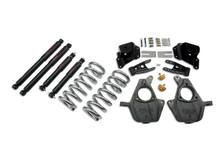 "2001-2006 Chevy Silverado 1500 2WD (Std Cab) 3/4"" Lowering Kit w/ Nitro Drop 2 Shocks - Belltech 949ND"