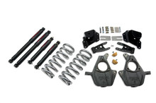 "2001-2006 GMC Sierra 1500 2WD (Std Cab) 3/4"" Lowering Kit w/ Nitro Drop 2 Shocks - Belltech 949ND"