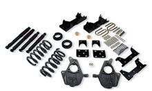 "2001-2006 Chevy Silverado 1500 2WD (Std Cab) 4/6"" Lowering Kit w/ Nitro Drop 2 Shocks - Belltech 667ND"