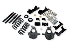 "2001-2006 GMC Sierra 1500 2WD (Std Cab) 4/6"" Lowering Kit w/ Nitro Drop 2 Shocks - Belltech 667ND"