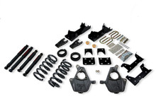 "2001-2006 Chevy Silverado 1500 2WD (Std Cab) 5/7"" Lowering Kit w/ Nitro Drop 2 Shocks - Belltech 668ND"