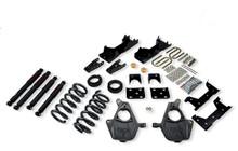 "2001-2006 GMC Sierra 1500 2WD (Std Cab) 5/7"" Lowering Kit w/ Nitro Drop 2 Shocks - Belltech 668ND"