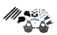 "2001-2006 GMC Sierra 1500 2WD (Ext Cab) 2/3"" Lowering Kit w/ Nitro Drop 2 Shocks - Belltech 658ND"