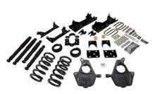"2001-2006 Chevy Silverado 1500 2WD (Ext Cab) 4/6"" Lowering Kit w/ Nitro Drop 2 Shocks - Belltech 671ND"