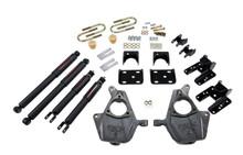 """2004-2006 GMC Sierra Denali 2WD (4DR) 2/4"""" Lowering Kit w/ Nitro Drop 2 Shocks - Belltech 679ND"""