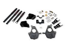 "1999-2000 Chevy Silverado 1500 2WD (Ext Cab) 2/4"" Lowering Kit w/ Nitro Drop 2 Shocks - Belltech 660ND"