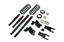 "1992-1998 Chevy C1500 2WD (Std Cab) 2/4"" Lowering Kit w/ Nitro Drop 2 Shocks - Belltech 685ND"