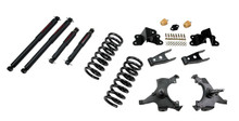 "1992-1998 Chevy C1500 2WD (Std Cab) 3/4"" Lowering Kit w/ Nitro Drop 2 Shocks - Belltech 687ND"