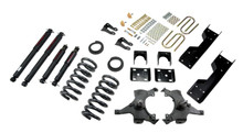"1992-1998 Chevy C1500 2WD (Std Cab) 4/6"" Lowering Kit w/ Nitro Drop 2 Shocks - Belltech 688ND"