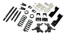 "1992-1998 Chevy C1500 2WD (Std Cab) 5/7"" Lowering Kit w/ Nitro Drop 2 Shocks - Belltech 689ND"