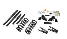 "1988-1998 GMC Sierra C1500 2WD (Ext Cab) 2-3/4"" Lowering Kit w/ Nitro Drop 2 Shocks - Belltech 691ND"