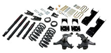 "1988-1991 Chevy C1500 2WD (Std Cab) 5/7"" Lowering Kit w/ Nitro Drop 2 Shocks - Belltech 697ND"
