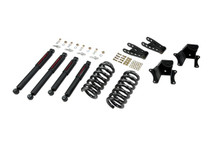 "1973-1987 Chevy C10 2WD (w/ 1"" Rotors) 2/4"" Lowering Kit w/ Nitro Drop 2 Shocks - Belltech 703ND"