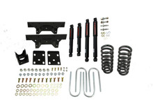 "1973-1987 Chevy C10 2WD (w/ 1"" Rotors) 4/6"" Lowering Kit w/ Nitro Drop 2 Shocks - Belltech 705ND"