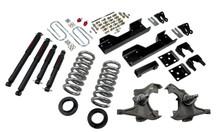 "1997-2000 Chevy C2500 / C3500 2WD 5/8"" Lowering Kit w/ Nitro Drop 2 Shocks - Belltech 717ND"