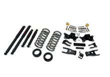 "1997-2000 Chevy C2500 / C3500 2WD (Extended / Crew Cab) 2/4"" Lowering Kit w/ Nitro Drop 2 Shocks - Belltech 718ND"