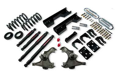 """1990-1996 Chevy C2500 / C3500 & Dually 2WD (All Cabs) 5/8"""" Lowering Kit w/ Nitro Drop 2 Shocks - Belltech 722ND"""