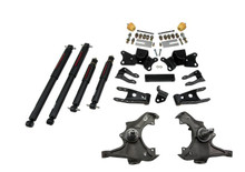 "1988 Chevy C3500 Crew Cab Dually 3/4"" Lowering Kit w/ Nitro Drop 2 Shocks - Belltech 726ND"