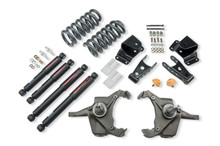 "1975-1991 Chevy C30 Crew Cab Dually 4/4"" Lowering Kit w/ Nitro Drop 2 Shocks - Belltech 967ND"