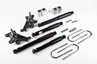 "1984-1995 Toyota Pickup 2"" F / 3"" R Lowering Kit w/ Nitro Drop 2 Shocks - Belltech 444ND"