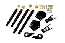 "1992-1999 Chevy Suburban K1500 4WD 2/4"" Lowering Kit w/ Nitro Drop 2 Shock - Belltech 765ND"