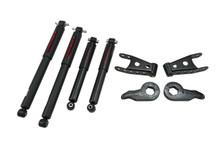 "1992-1999 GMC Yukon 4WD (2 Door) 1/1"" Lowering Kit w/ Nitro Drop 2 Shock - Belltech 766ND"