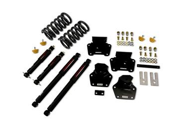 "1997-2004 Dodge Dakota 2/4"" Lowering Kit w/ Nitro Drop 2 Shocks - Belltech 802ND"